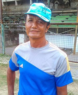 Coach Ridwan.